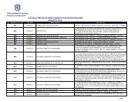 Listado Resoluciones Agosto 2011 - Intranet Municipal ...