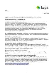 Kepan kommentit yksityiskohtiin - Kepa.fi