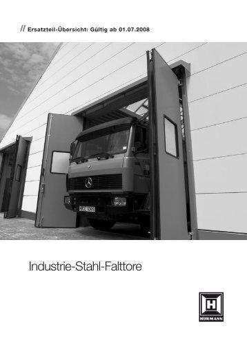 Industrie-Stahl-Falttore - Hörmann KG