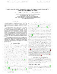 Detection of Glottal Closing and Opening Instants using an Improved ...