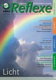 Zeitschrift für physikalische Therapie • LICHTTHERAPIE ... - vdms