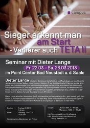 Flyer als Download im PDF-Format. - dentaMEDIC® Campus