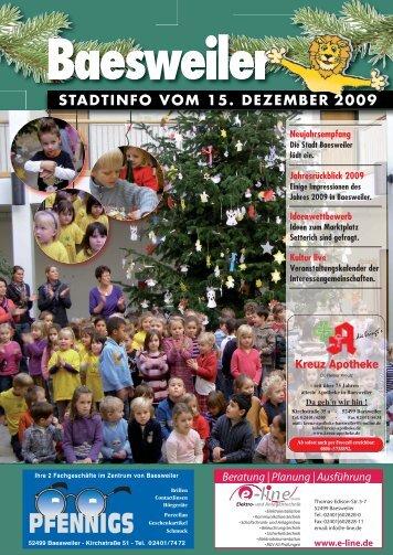 Stadtinfoausgabe - Stadt Baesweiler