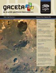 Editor: Ligia Pérez-Cruz Volumen III No. 12 Agosto, 2013 - UGM