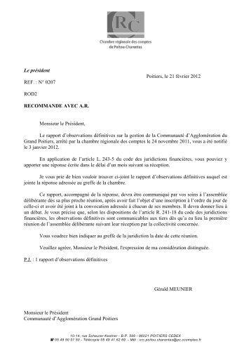 Rapport d'observations définitives (PDF, 3,18 MB) - Cour des comptes