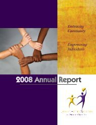 Annual Report 2008.indd - Jewish Family Services