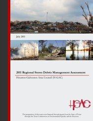 2011 Regional Storm Debris Management Assessment - Houston ...