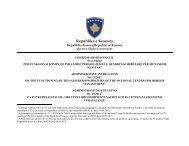 Udhëzim Administrativ nr. 13/2012 - Republika e Kosovës - Zyra e ...