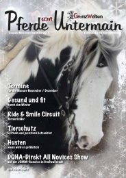 Ausgabe 11-12/2013 als PDF - Pferdewelten - Das Magazin