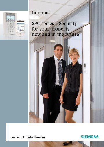 Intrunet SPC series - Security Products UK and Ireland