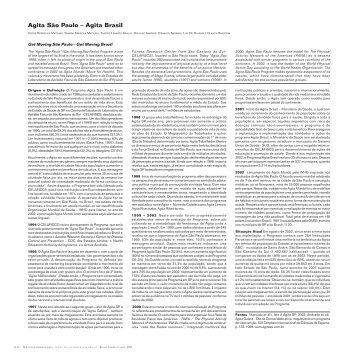 Agita São Paulo - Atlas do Esporte no Brasil