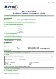 359789 COSHH Datasheet (PDF) - Travis Perkins