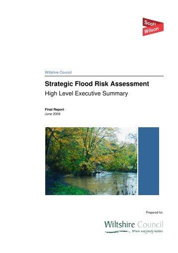 Strategic Flood Risk Assessment - Wiltshire Council