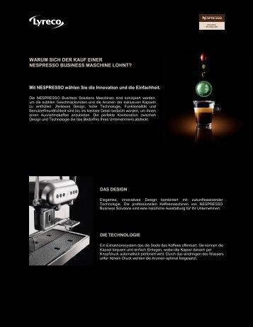 Mehr Informationen (PDF) - lyreco