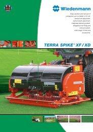 TERRA SPIKE ® XF / XD - Wiedenmann GmbH