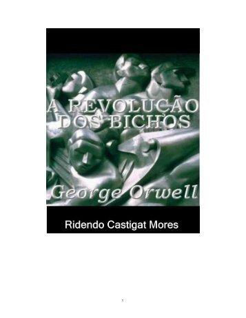 A Revolução dos Bichos - George Orwell - eBooksBrasil