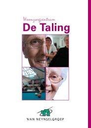 Woonzorgcentrum De Taling & Zorgappartementen Hof van ...