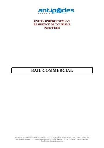 bail commercial meuble - CN2i