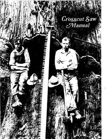 Cross Cut Saw Manual - BCHCalifornia.org