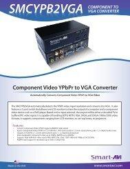 smcypb2vga component to vga converter - SmartAVI