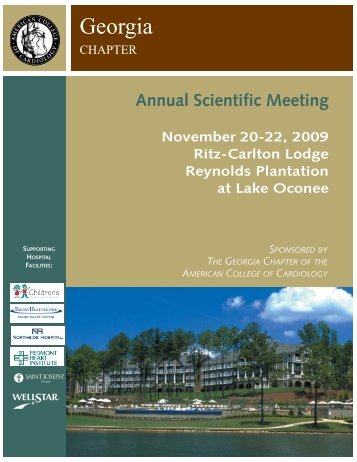 Annual Scientific Meeting - Georgia Chapter