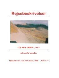 Island 2004 - Dansk Autocamper Forening