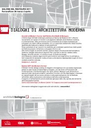 Scarica il programma degli Incontri Dialoghi di ... - Urban Center