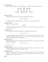 Domáca Úloha 1. spočítejte koeficient odrazu od bariéry, která je v x ...
