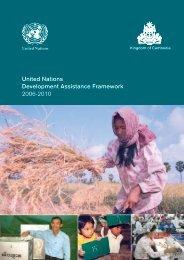 United Nations Development Assistance Framework 2006-2010