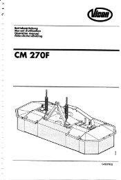 VICON CM 167 / CM 217 / CM 247