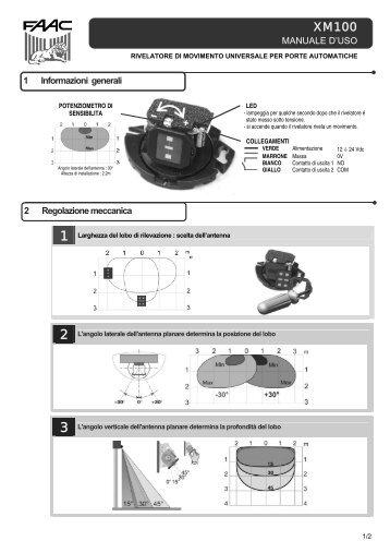 XM100 IT 42.0808.01.UG.pdf - Faac