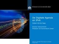 De Digitale Agenda en IPv6 - Ecp