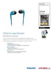 SHO2200BL/10 Philips THE TREAD-oortelefoon