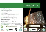 Grønn Galla program - FAGUS