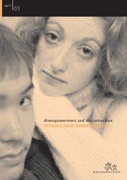 7599 - trauma report - Glasgow Homelessness Network