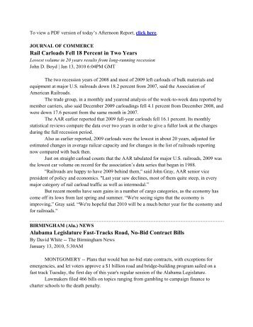 Microsoft Word - Afternoon_Report_01_19_10.docx