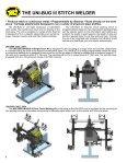 PROGRAMMABLE UNI-BUG III StItch WELdER - Rapid Welding and ... - Page 2