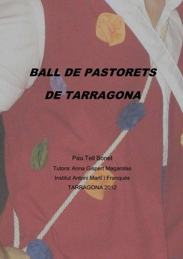 Ball de Pastorets de Tarragona [DinA4-Original] - Tinet