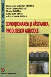 Conditionare 2013.pdf - Facultatea de Agricultură