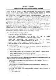 Oznámení o zveřejnění návrhu Plánu oblasti povodí Odry k ...
