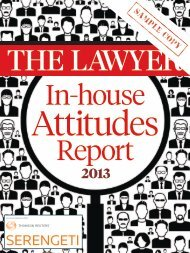 in association with - The Lawyer