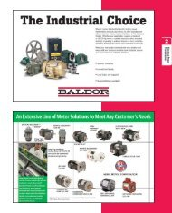 Electrical Power Transmission - Motion Industries