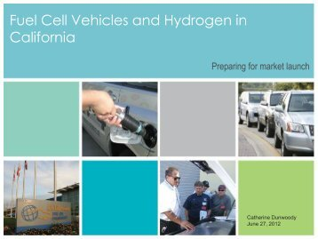 Fuel Cell Vehicles and Hydrogen in California - Policy Institute