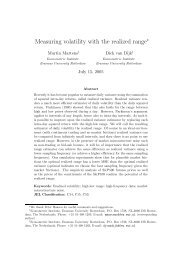 Measuring volatility with the realized range∗