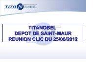 Présentation Titanobel bilan annuel 2011 - DREAL Midi-Pyrénées