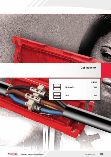 Gel techniek - Cellpack Electrical Products