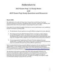 AICP Exam Prep Study Questions and Resources on CD-ROM ...