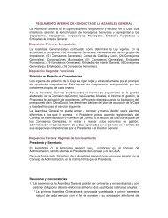 REGLAMENTO INTERNO DE CONDUCTA DE LA ... - Caja España
