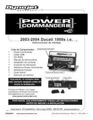 2003-2004 Ducati 1000s i.e. - Power Commander
