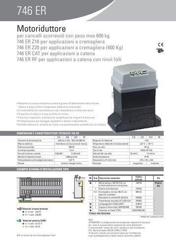 746 ER - Faac
